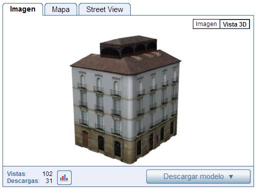 Plaza San Bartolomé, Arquitectura de Logroño en 3D