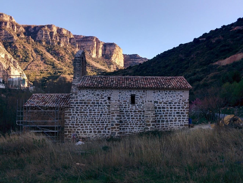 Ermita SAn Martin Leza de Río Leza